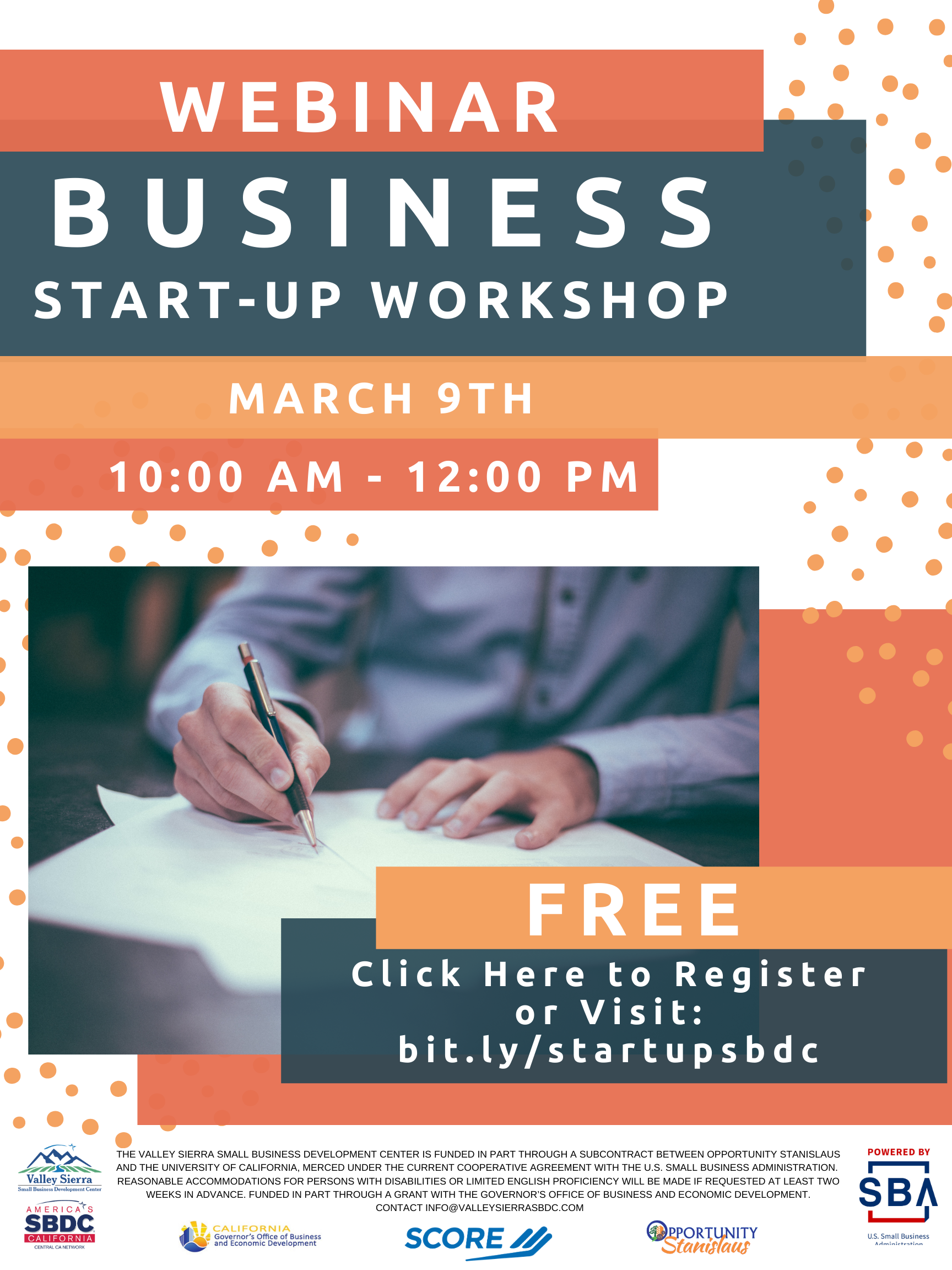 business start-up flyer
