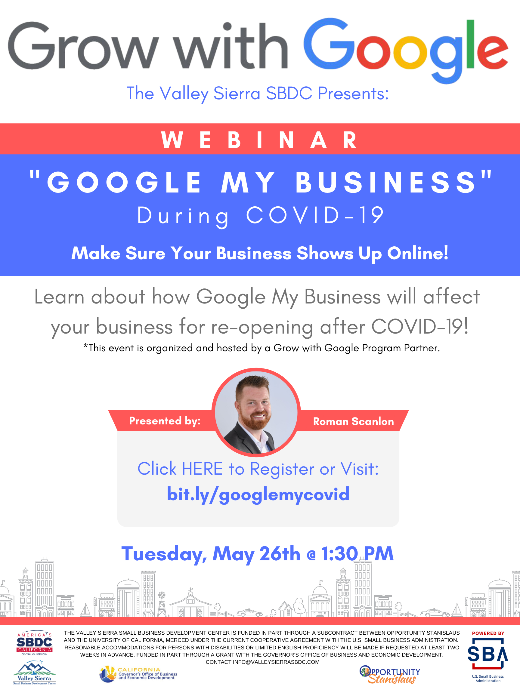 Google my business flyer