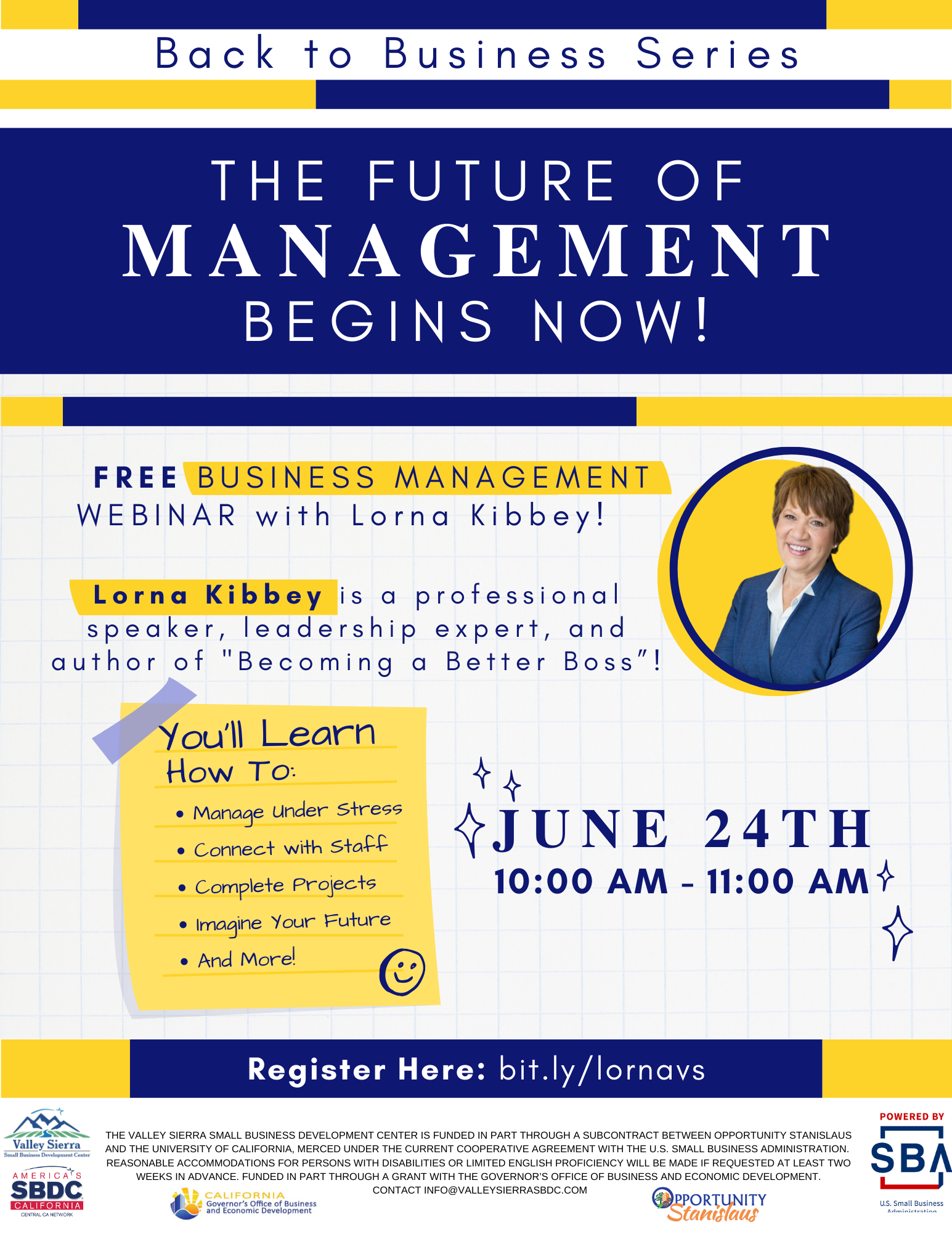 Future of Management Flyer