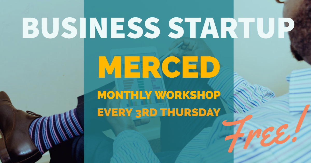 Merced Business Startup header