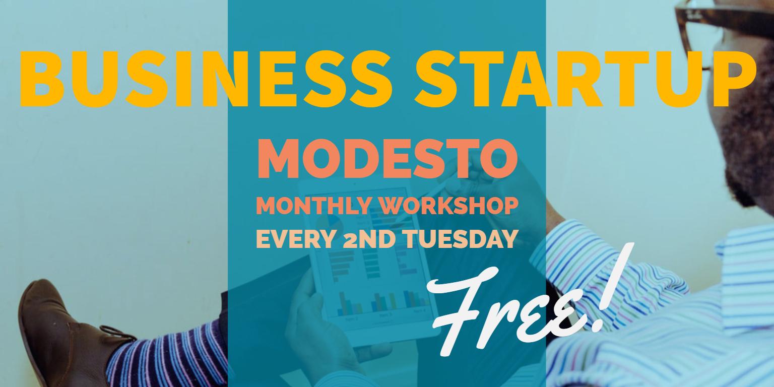 Modesto Business startup header