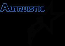 Altrusitic Logo - Black & White